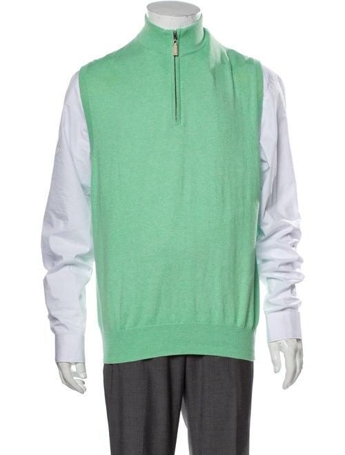 Peter Millar Turtleneck Sleeveless Sweater Vest Gr