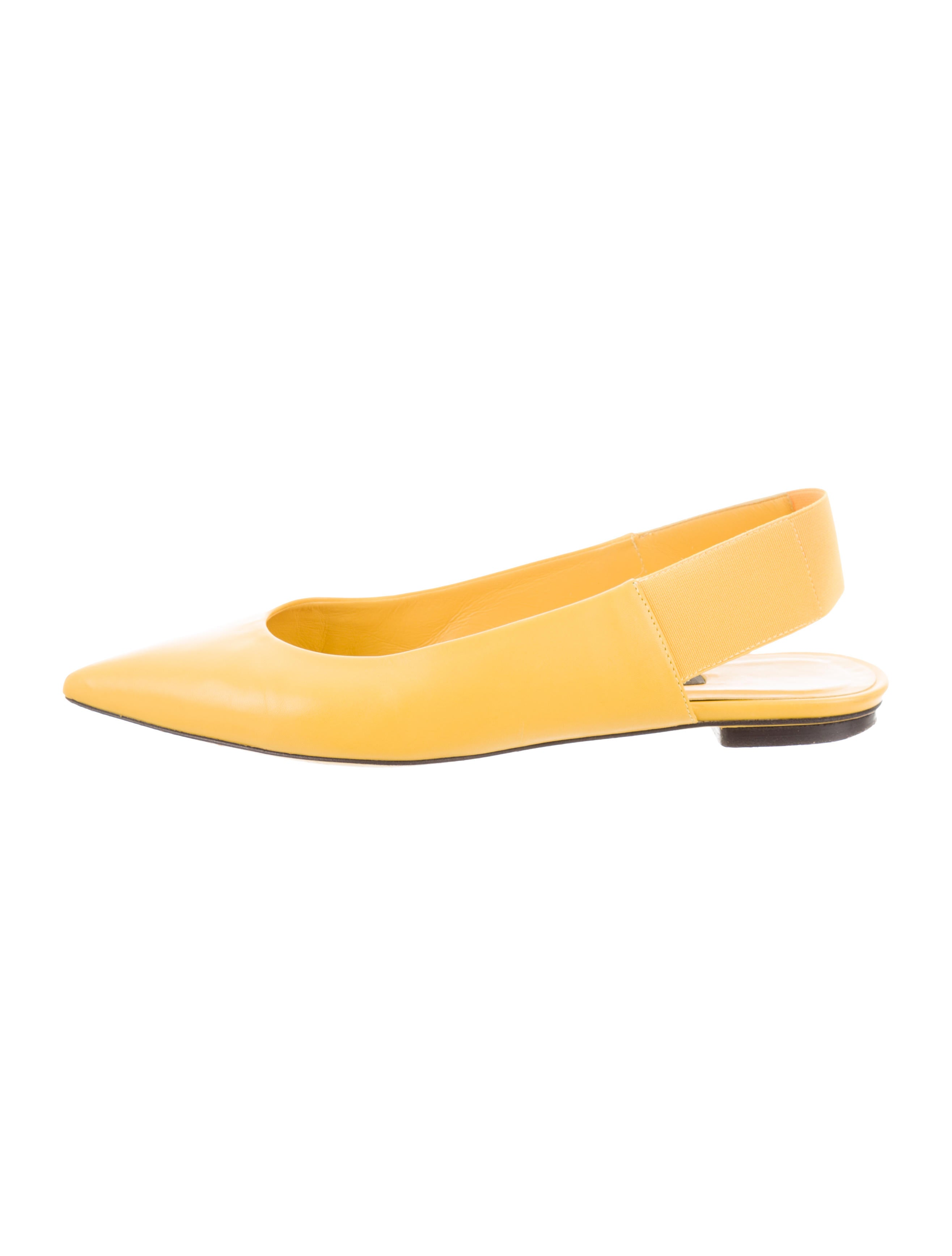 discount for nice Philippe Model Pointed-Toe Slingback Flats good selling online lYX5PK2