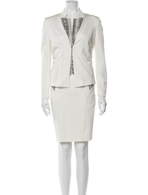 Pinko Skirt Set White