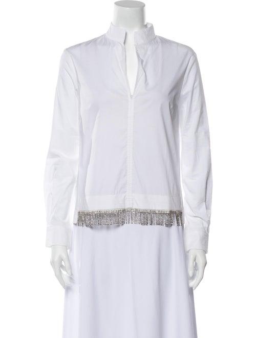Pinko Long Sleeve Blouse White