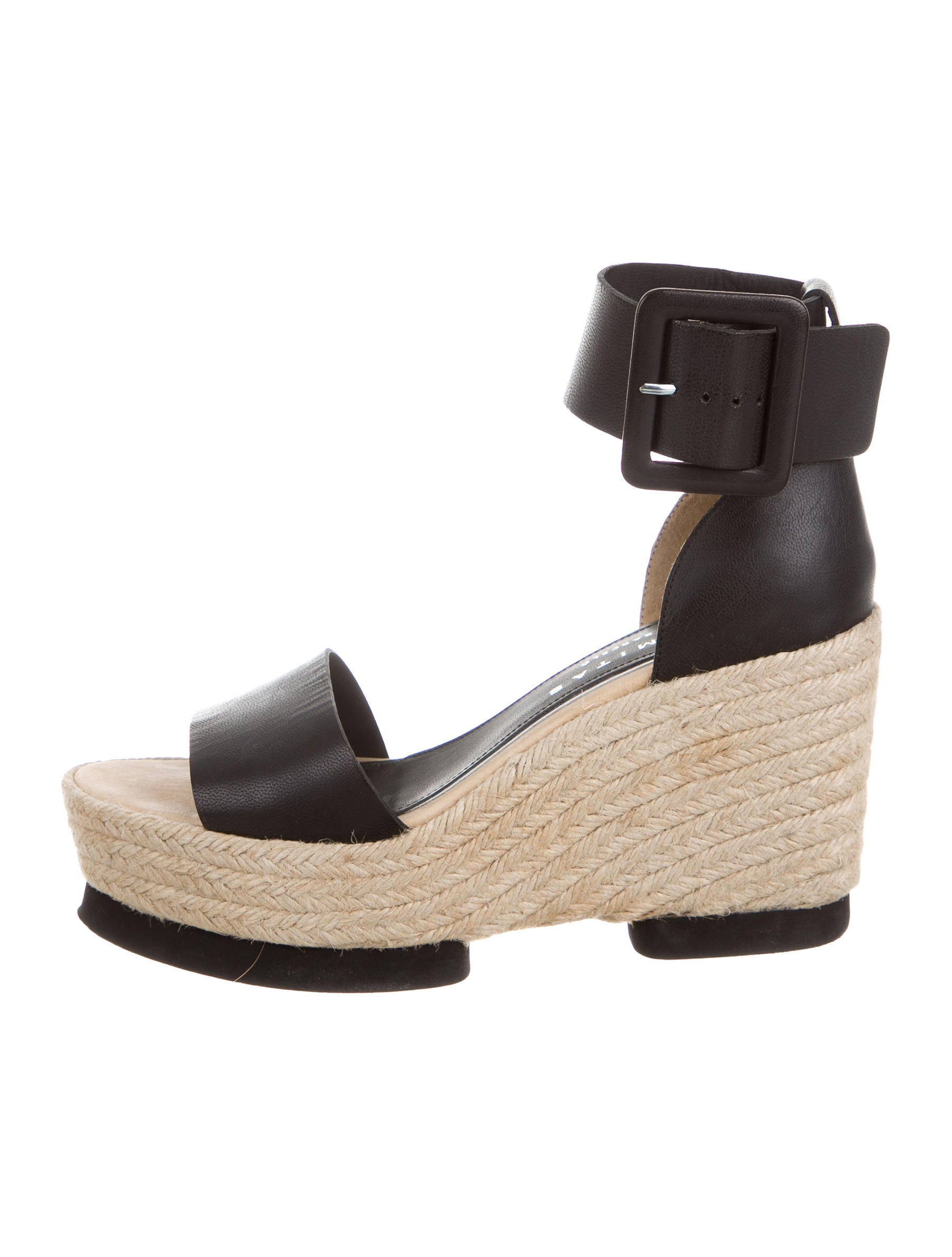 Black Wedge Shoes Size