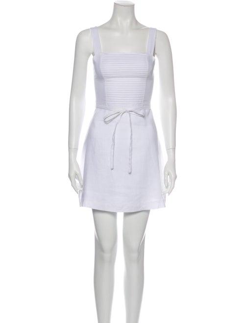 Posse Linen Mini Dress w/ Tags White