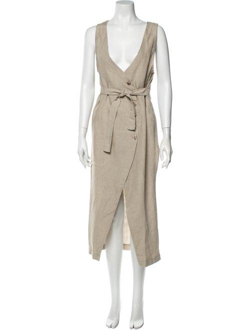 Posse Linen Long Dress