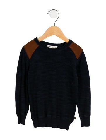 Appaman Fine Tailoring  Boys' Mélange Crew Neck Sweater None