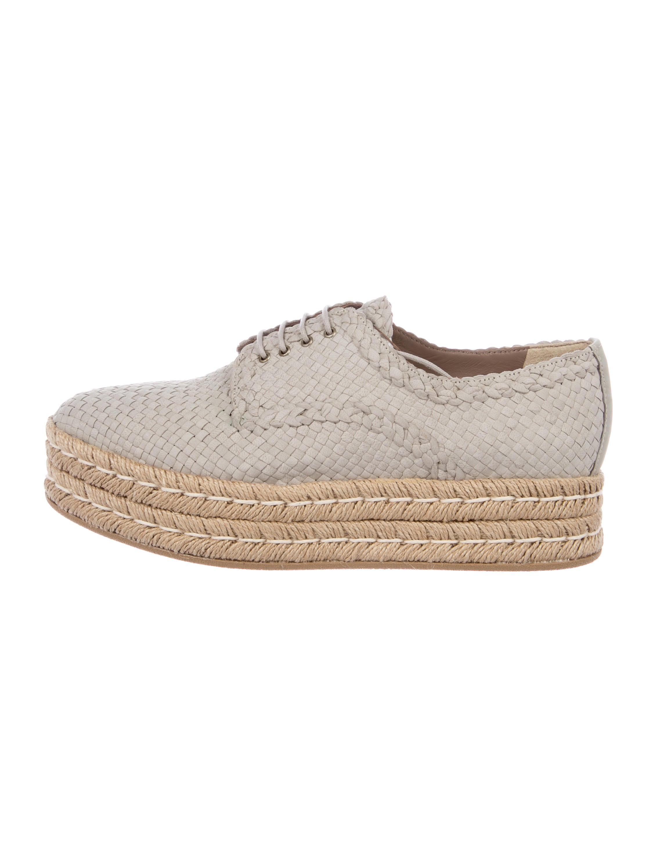 Pons Quintana Woven Platform Oxfords cheap reliable fake in China MFNvMTsK
