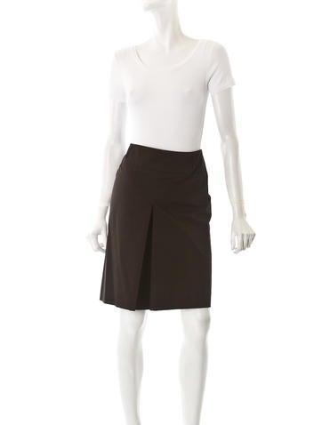 Stretch Cotton Skirt