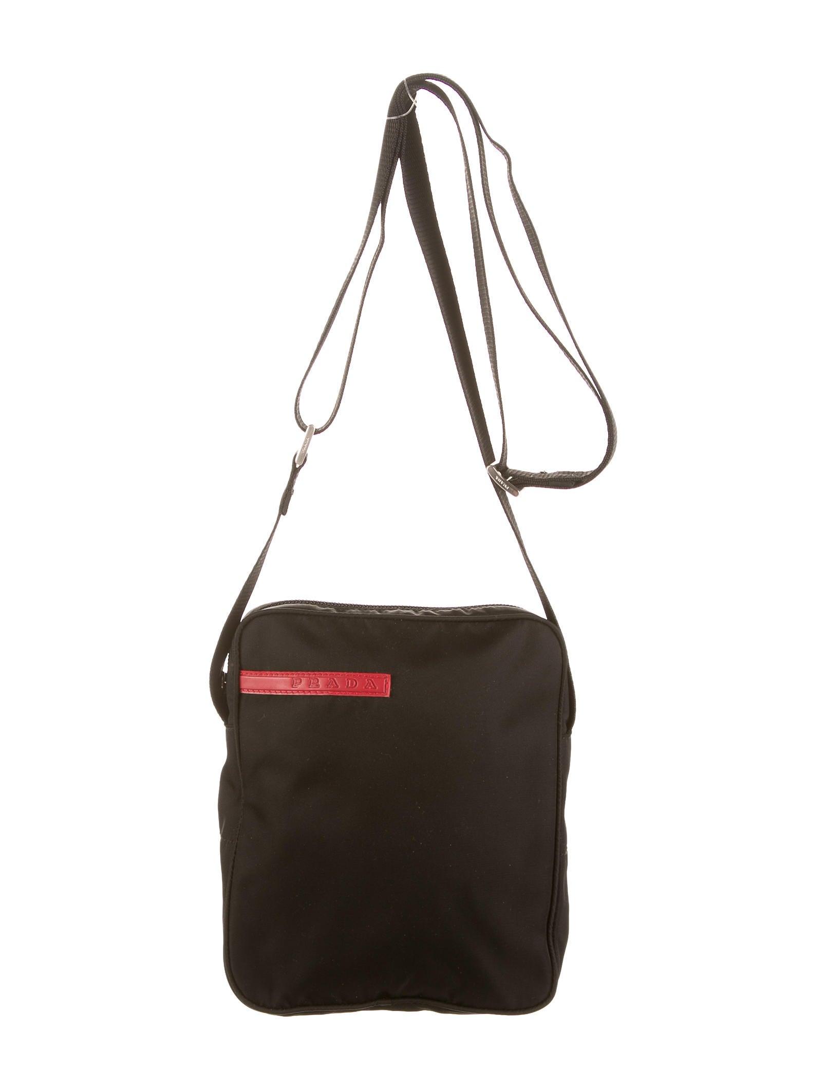 9c61c672d883 Prada Sport Messenger Bag - Bags - WPR23696
