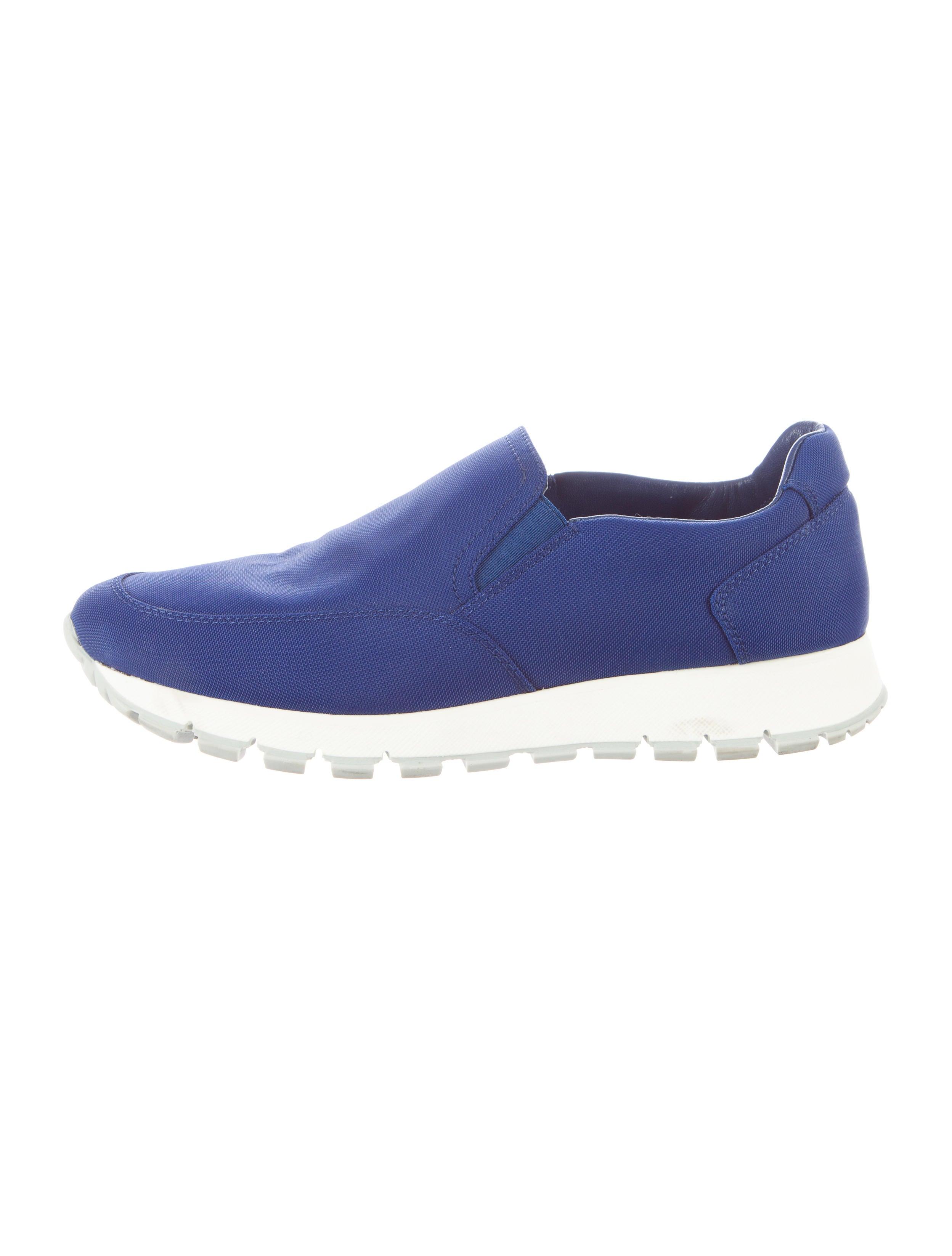 prada sport slip on sneakers shoes wpr29303 the realreal