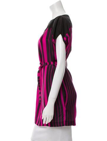Silk Striped Tunic w/ Tags