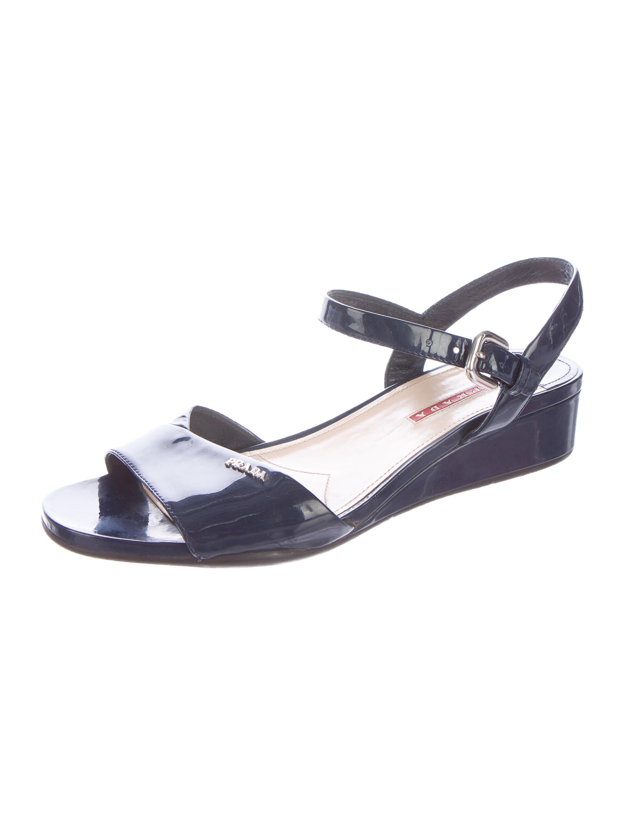 prada sport patent leather sandals shoes wpr34218