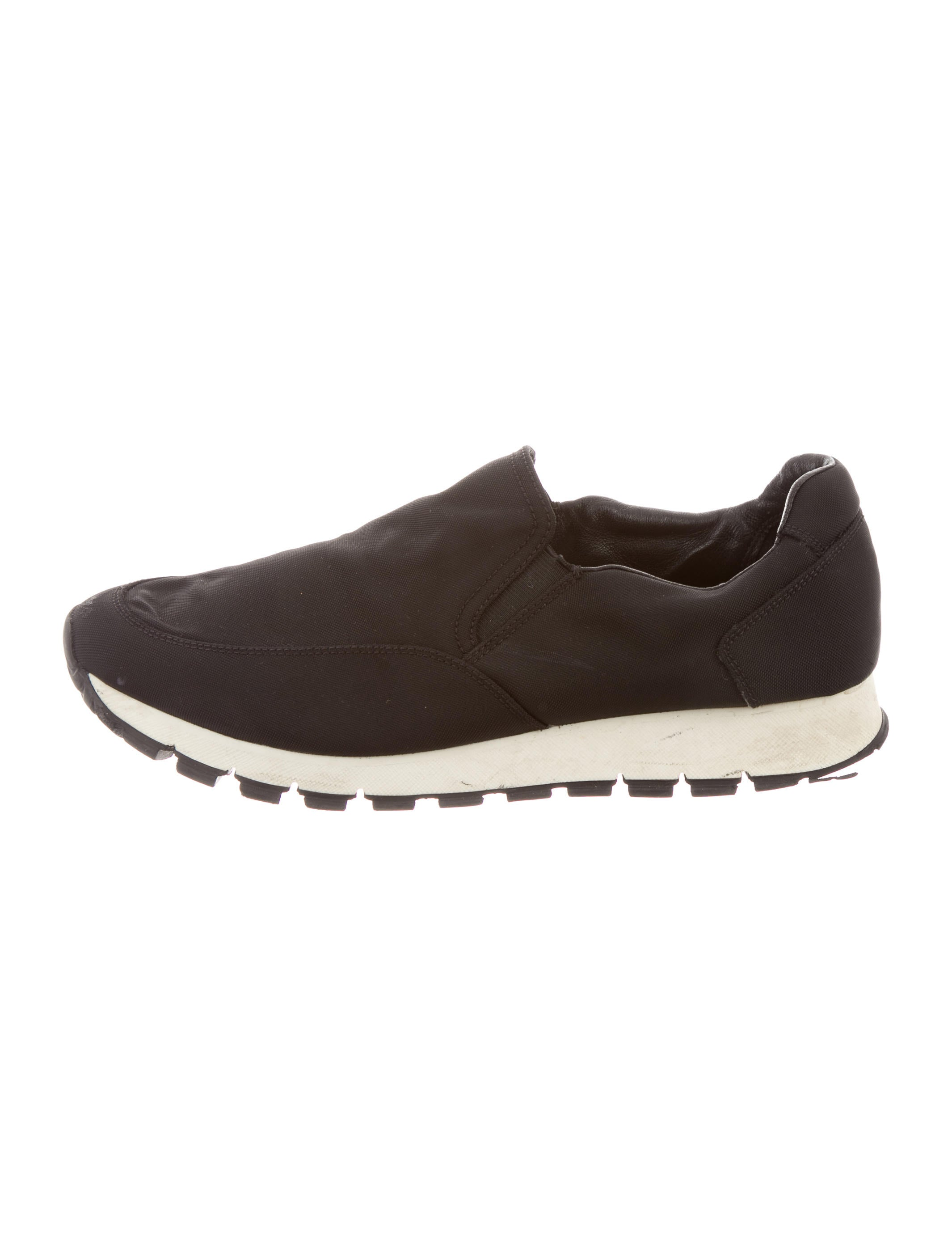 prada sport woven slip on sneakers shoes wpr34297
