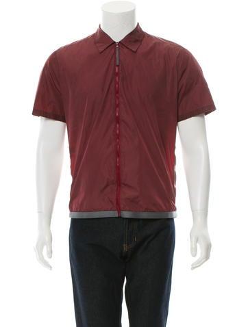 Prada Sport Short Sleeve Zip-Up Jacket None