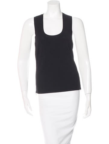 Prada Sport Sleeveless Knit Top None