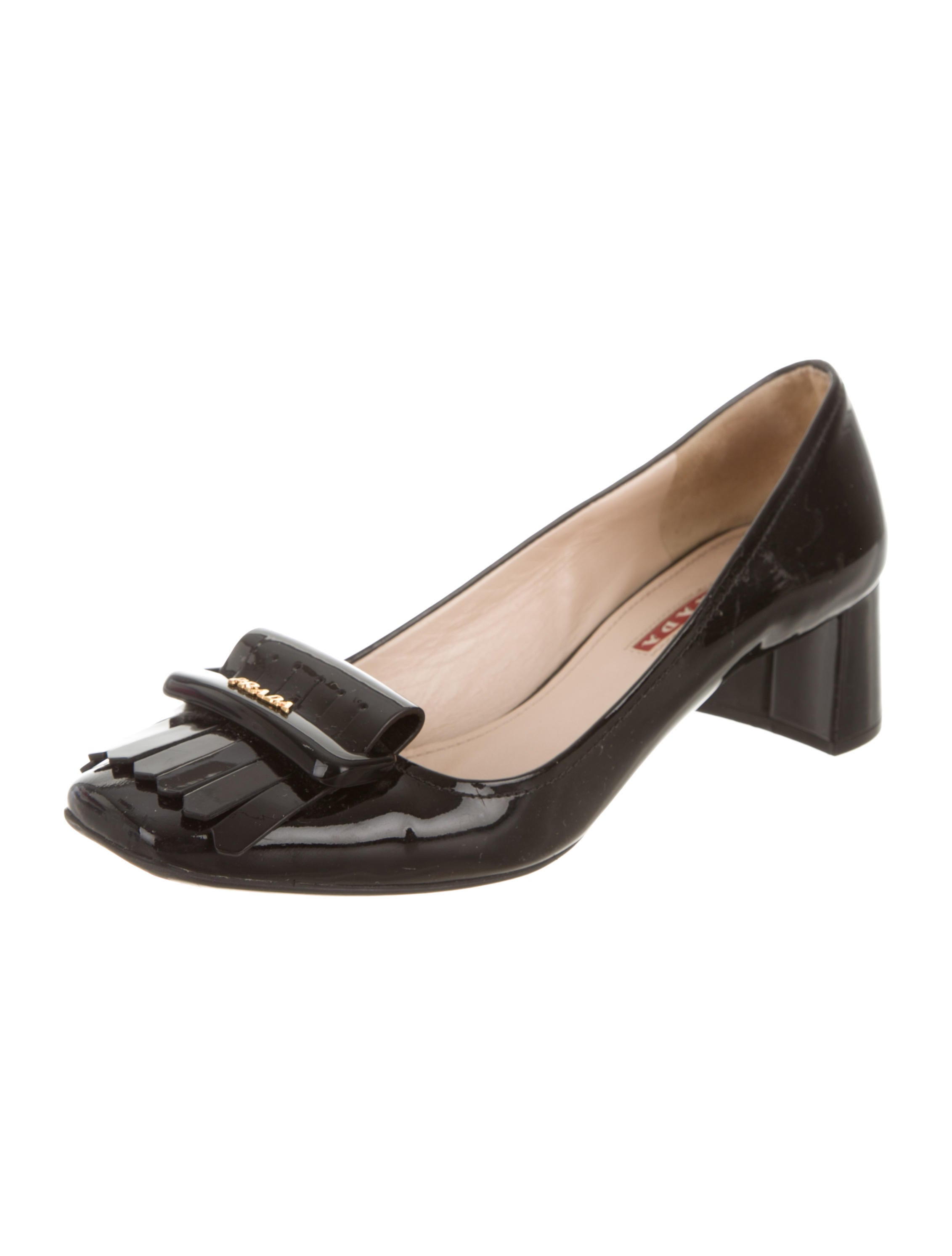 buy authentic online sale wholesale price Prada Patent Leather Kiltie Sandals w/ Tags pay with visa for sale clearance get authentic 1NQCTqI9
