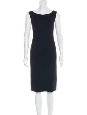 Prada Sport Knit Sleeveless Dress None