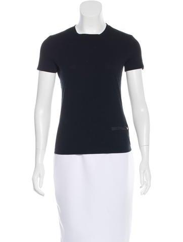 Prada Sport Pocket-Accented Short Sleeve T-Shirt