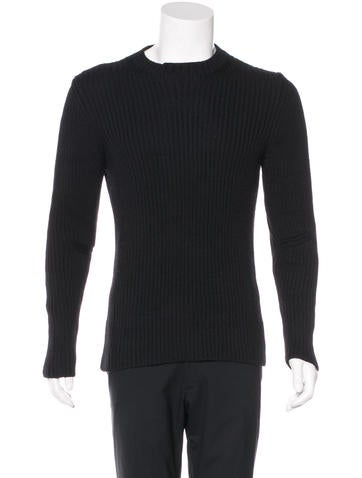 Prada Sport Wool Rib Knit Sweater None