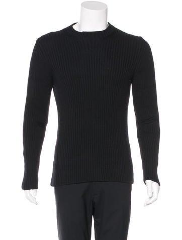 Prada Sport Wool Rib Knit Sweater None