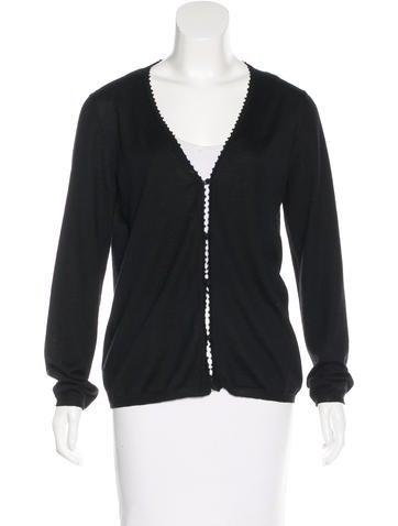 Prada Sport Silk & Cashmere-Blend Cardigan None