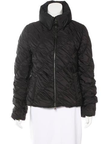 Prada Sport Zip-Up Puffer Jacket None