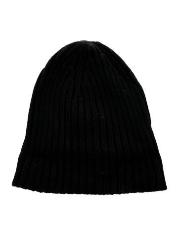 Rib Knit Wool Beanie