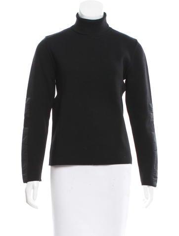 Prada Sport Wool Turtleneck Top None