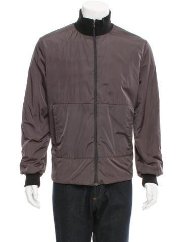 Prada Sport Nylon Knit-Trimmed Jacket None