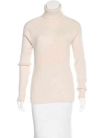 Prada Sport Long Sleeve Rib Knit Sweater None
