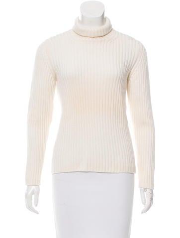Prada Sport Wool Turtleneck Sweater None