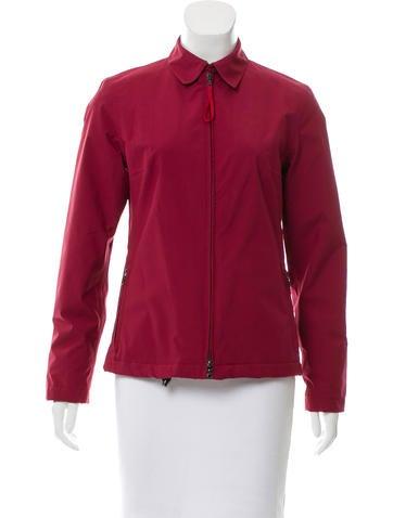 Prada Sport Zipped Lightweight Jacket None