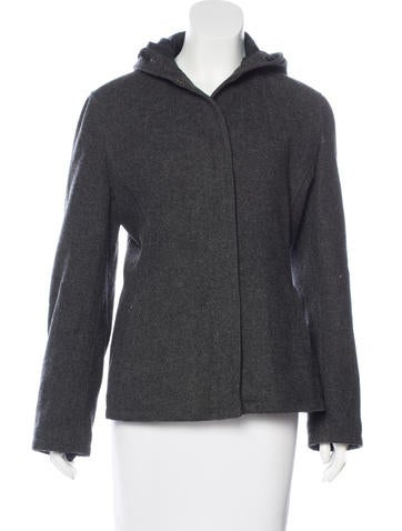 Prada Sport Short Wool Coat None