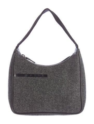 Prada Sport Wool Handle Bag None
