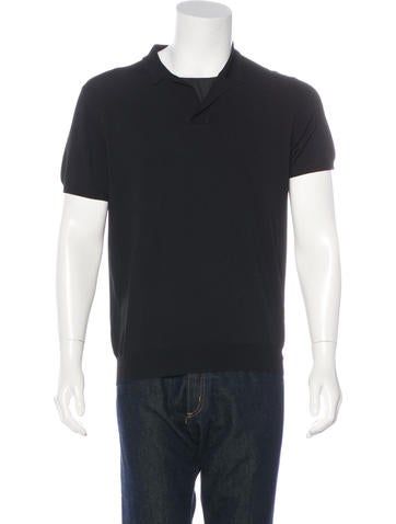 Prada Sport Short Sleeve Polo None