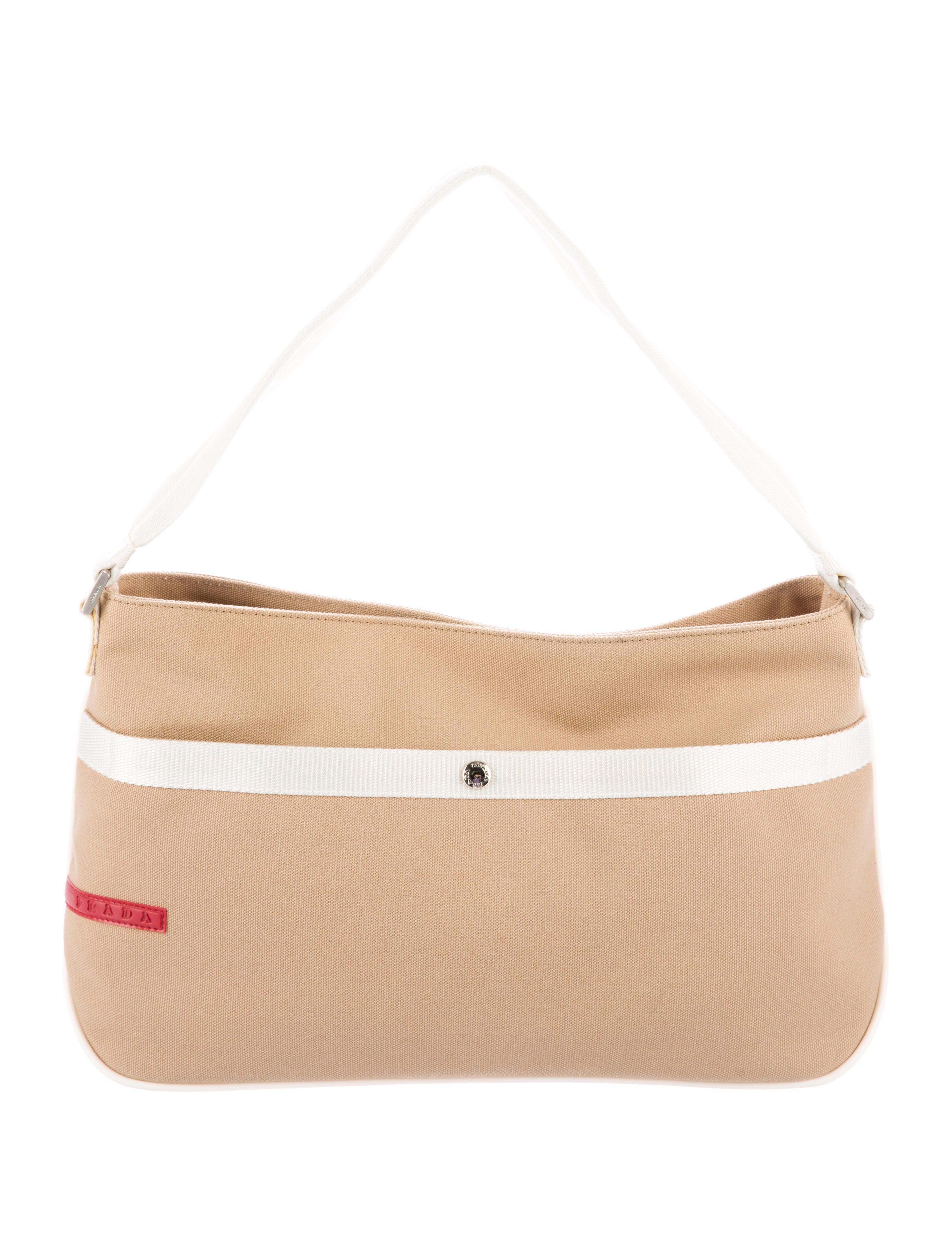 e9de376e5dfe Prada Sport Colorblock Canapa Shoulder Bag - Handbags - WPR38033 ...