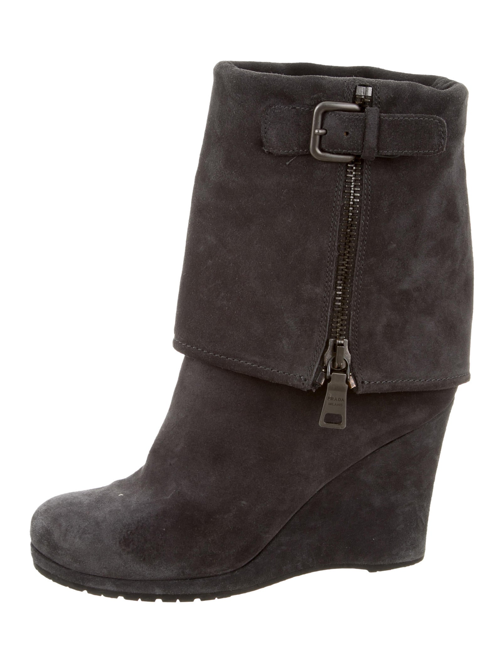 prada sport wedge ankle boots shoes wpr38801 the