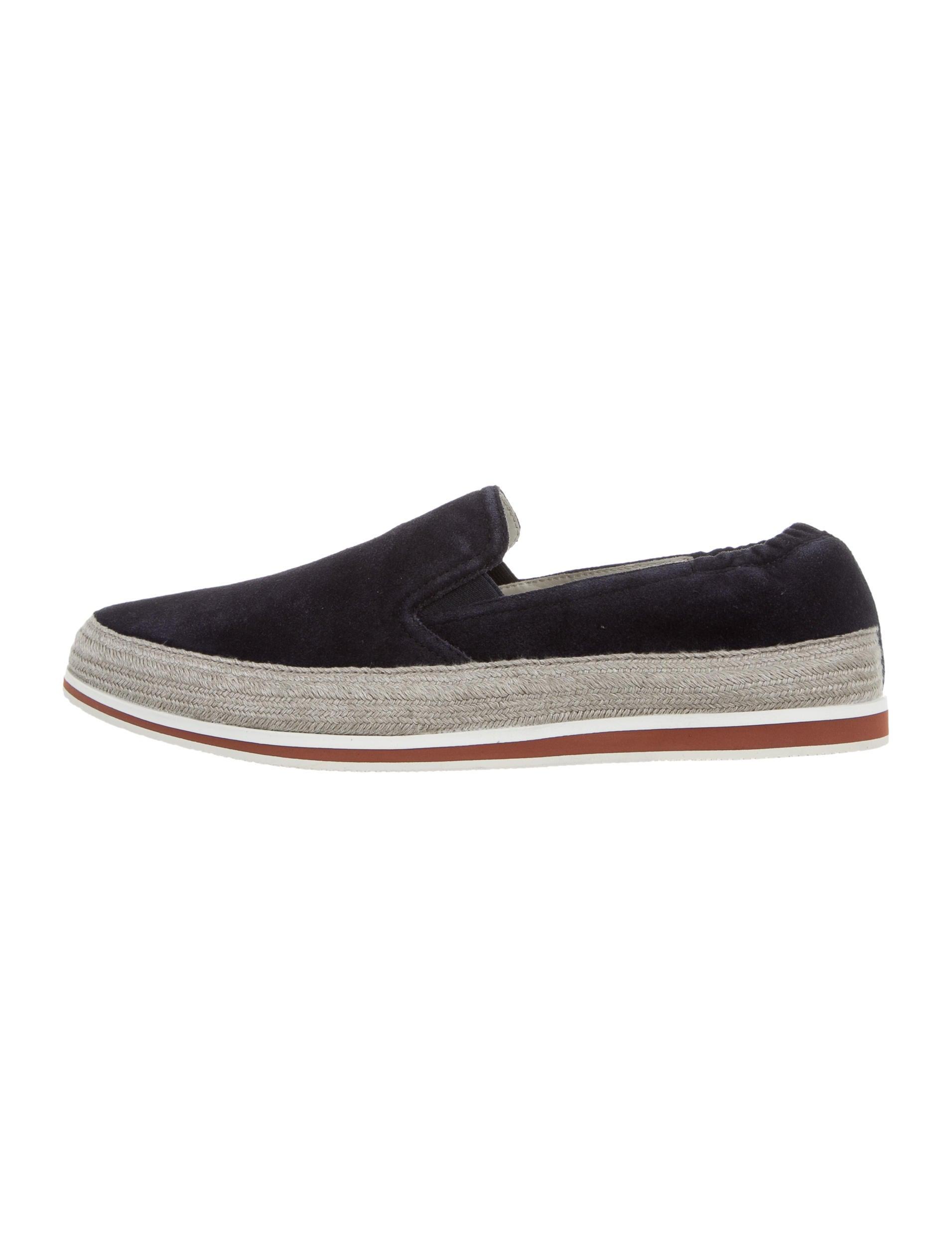 prada sport suede slip on sneakers shoes wpr39308