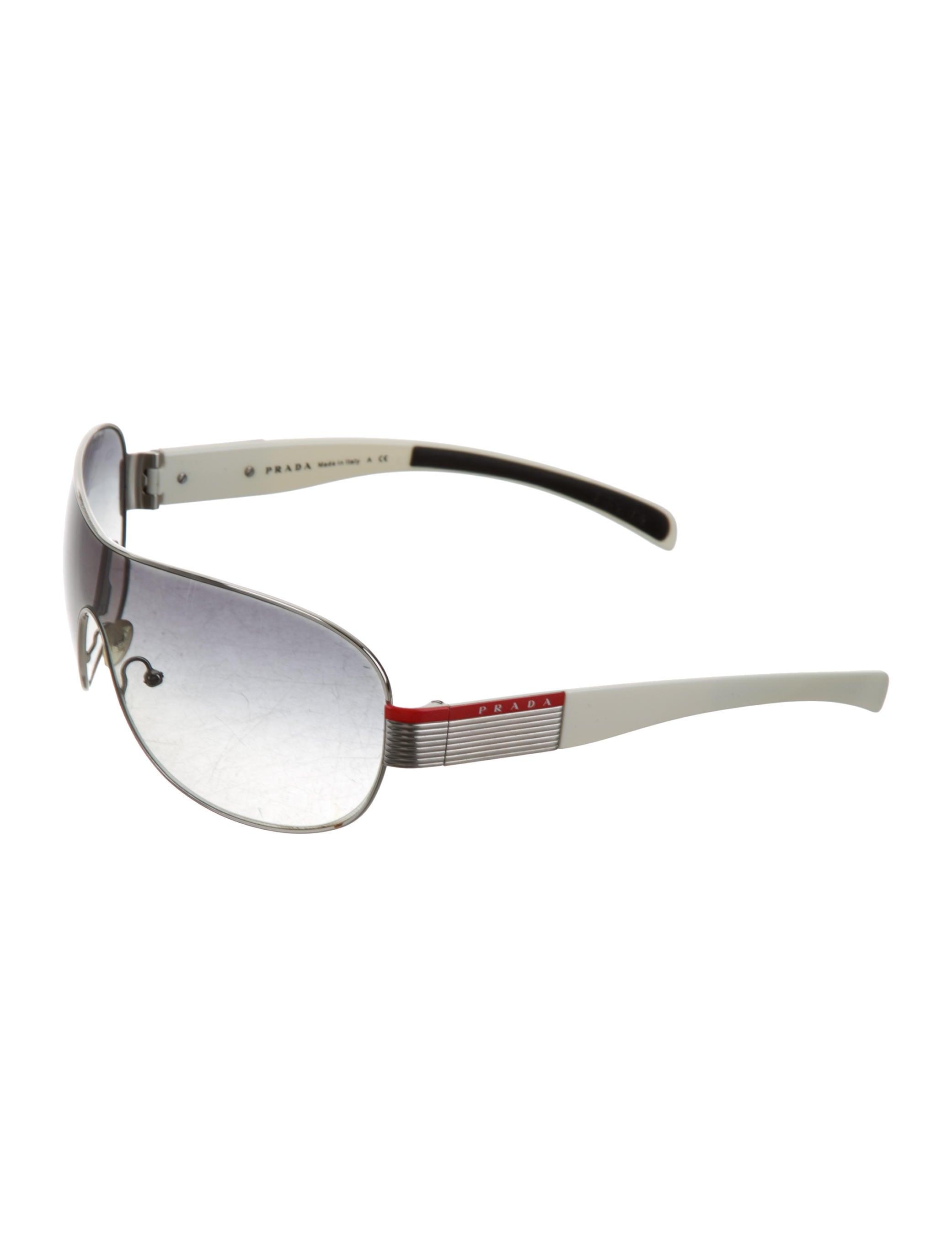 0ab307a2a95 Prada Sport Shield Sunglasses