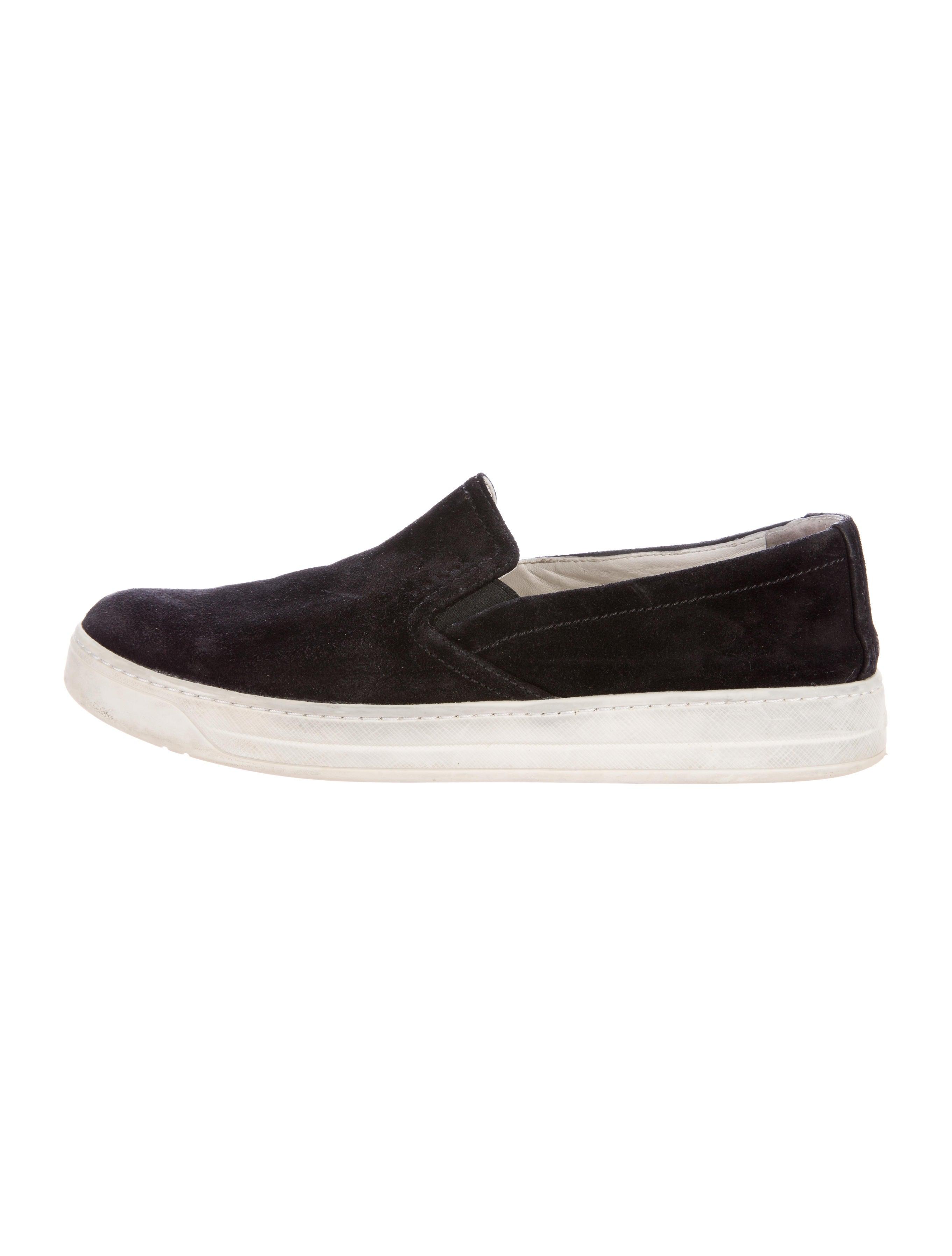 prada sport suede slip on sneakers shoes wpr39908