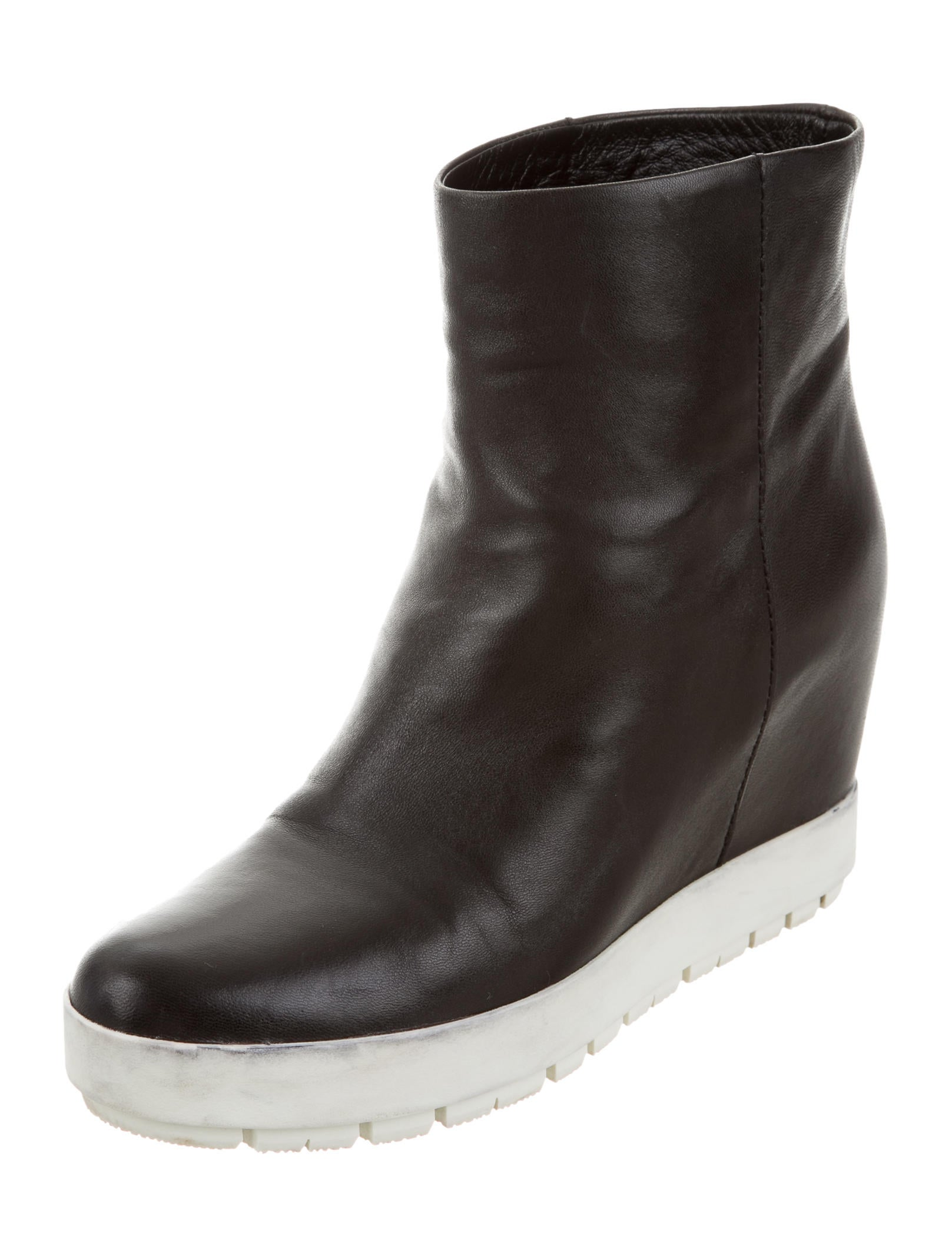 prada sport leather wedge boots shoes wpr40000 the