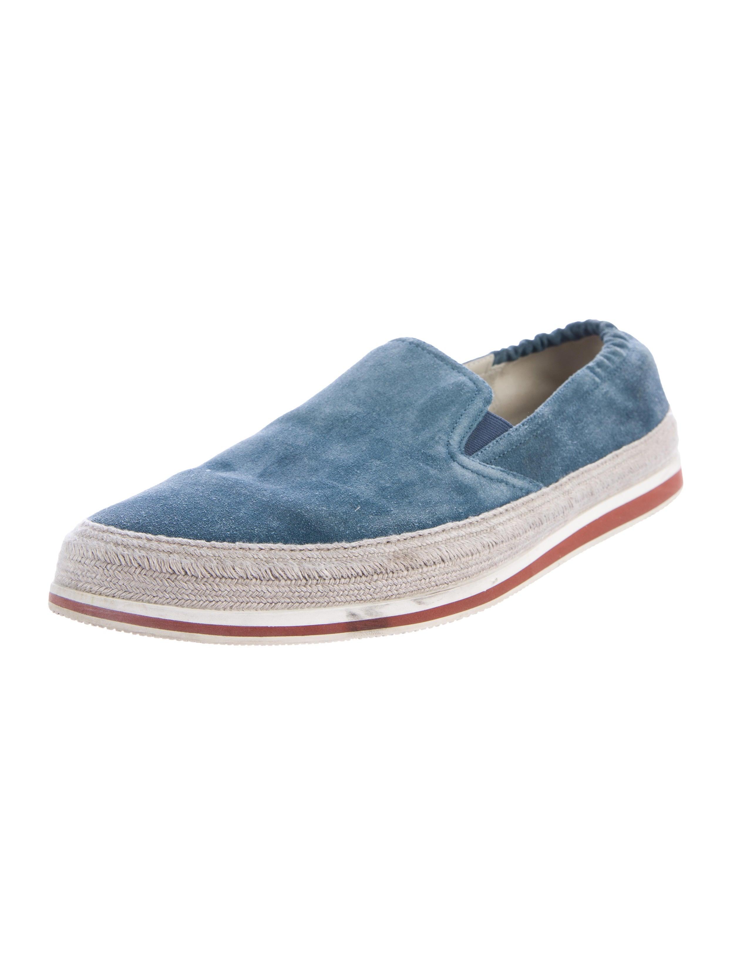 prada sport suede slip on sneakers shoes wpr40054