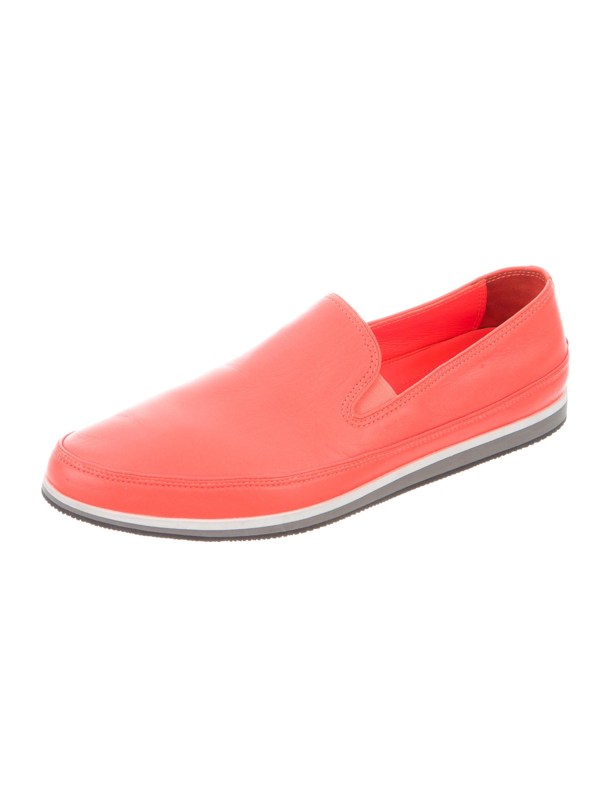 prada sport leather slip on sneakers shoes wpr40107