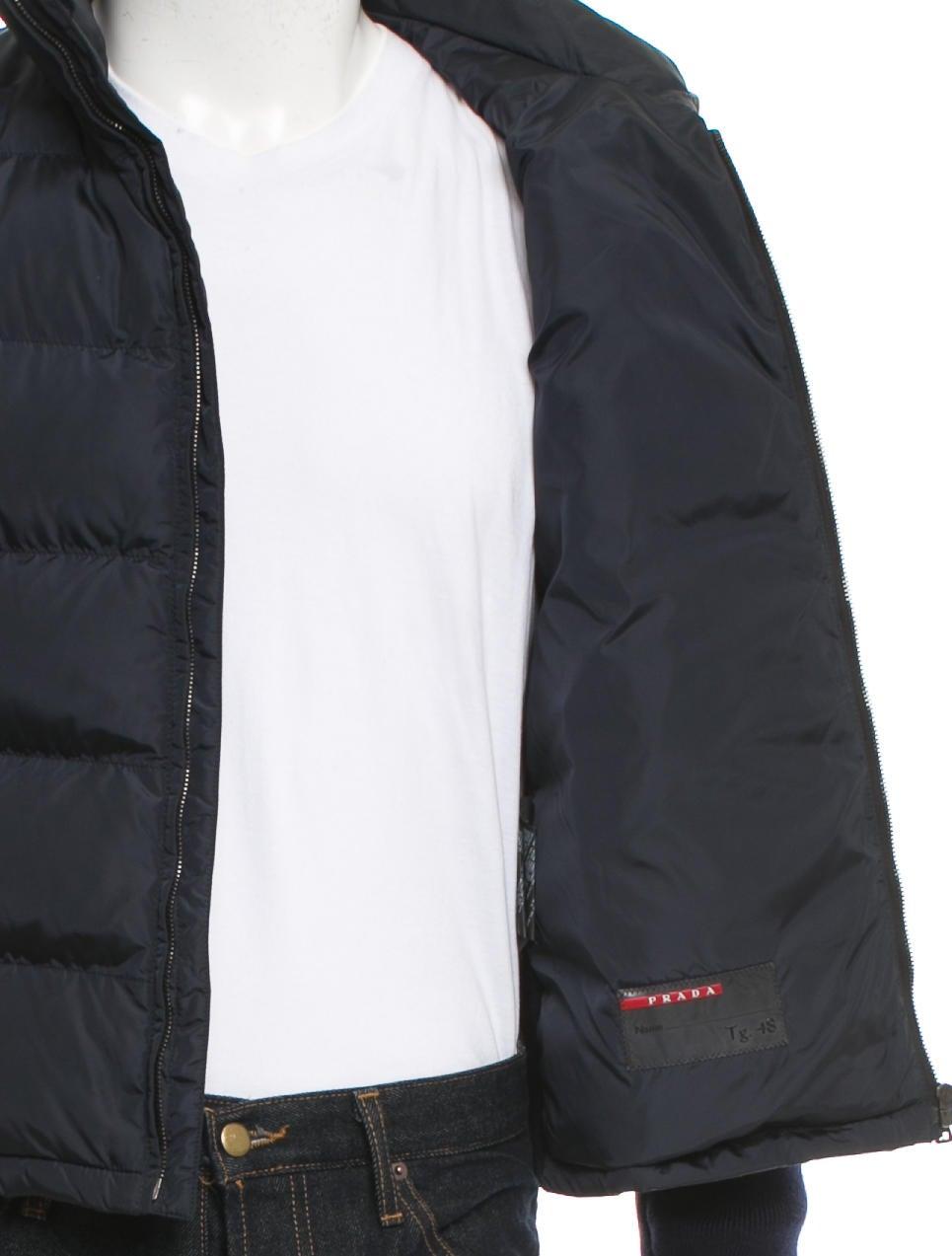 Prada Sport Wool Quilted Jacket Clothing Wpr41458