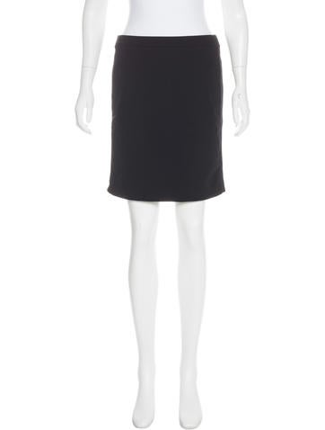 Prada Sport Mini Straight Skirt None