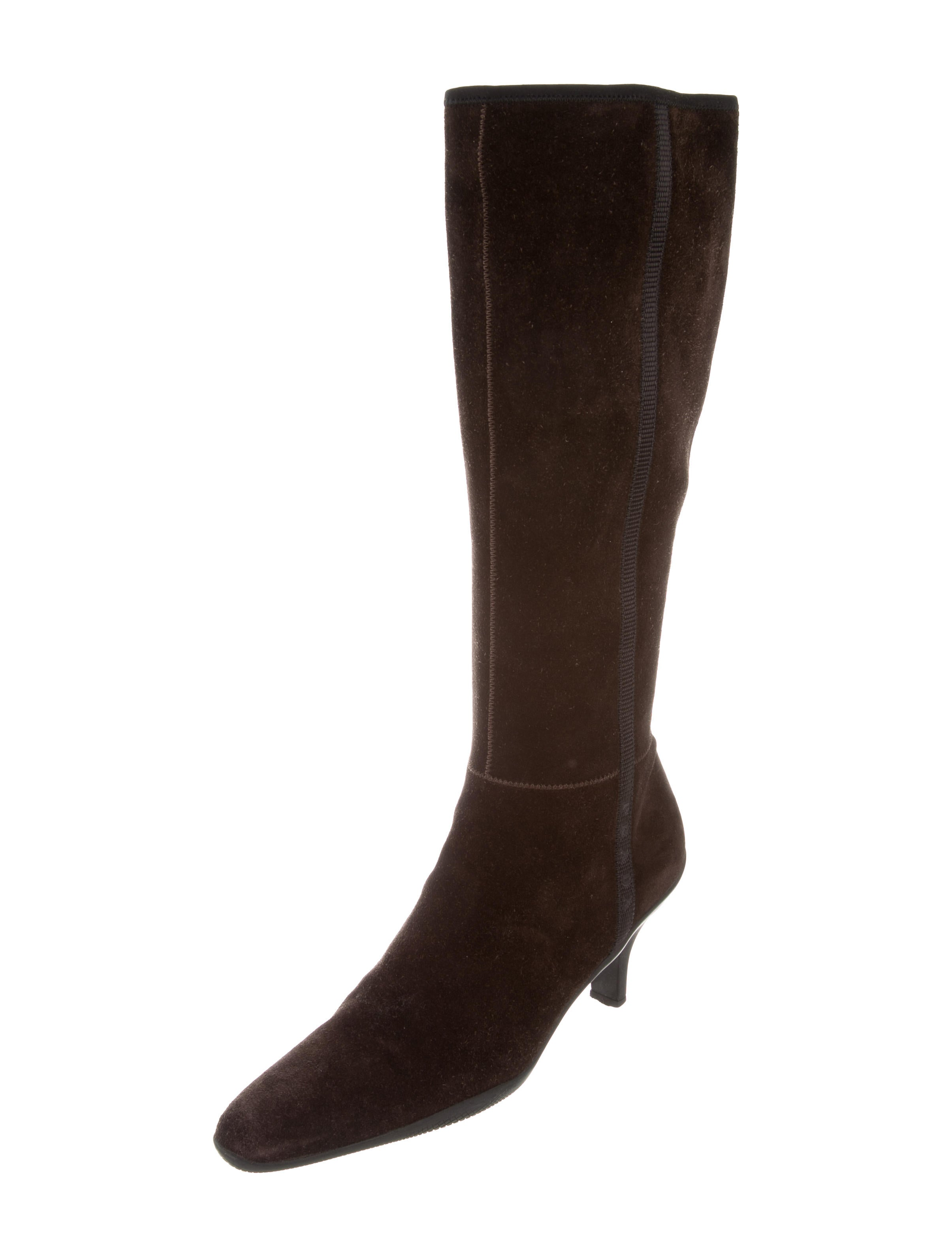 prada sport suede knee high boots shoes wpr42647 the