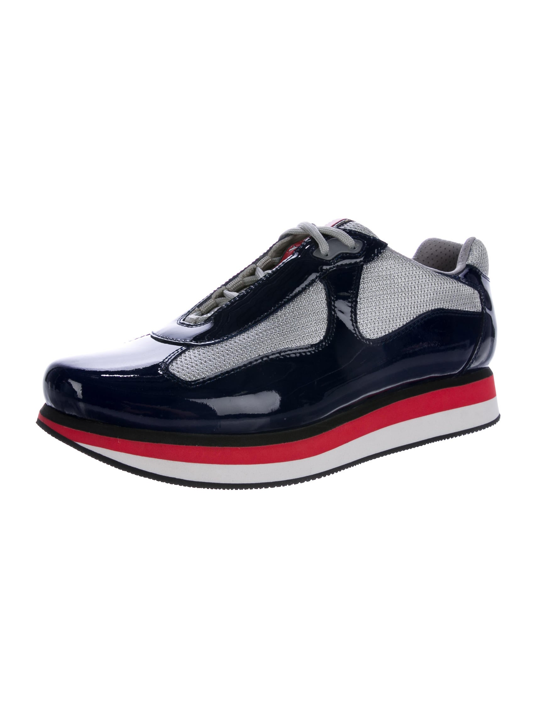prada sport vernice bike sneaker shoes wpr43009 the