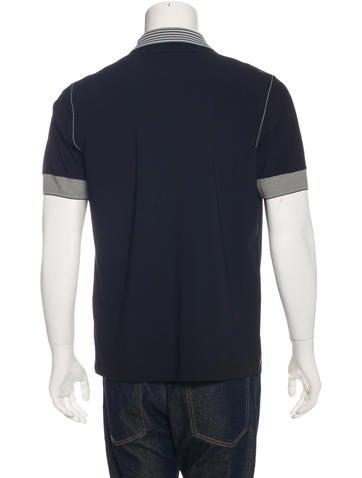 Prada Sport Nylon Polo Shirt - Clothing