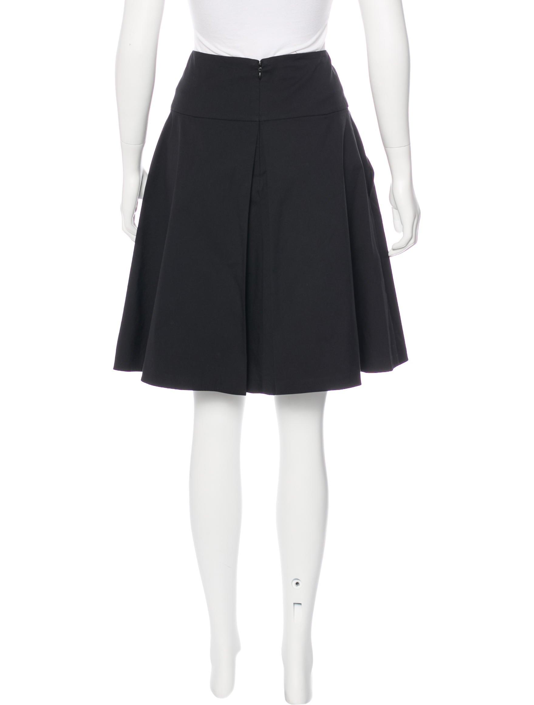 prada sport knee length a line skirt clothing wpr43416