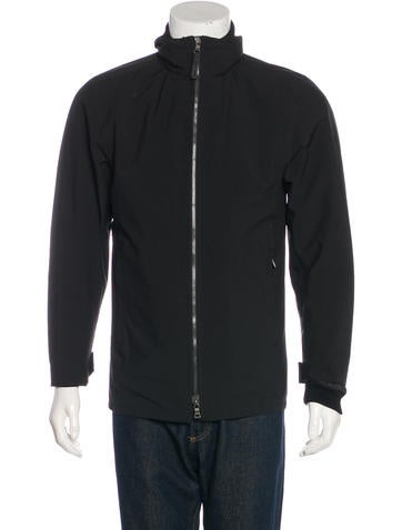 Prada Sport Mock Neck Layered Jacket None