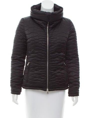 Prada Sport Down Zip-Up Jacket None