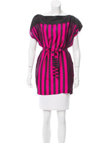 Prada Sport Silk Striped Tunic None